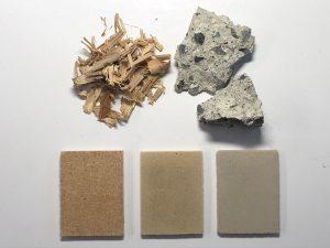 wood waste concrete
