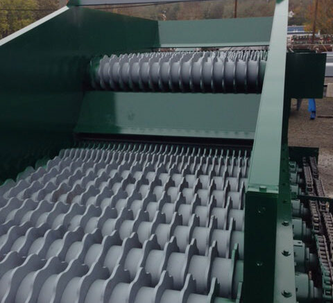West Salem mulch screener