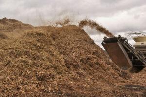 Mulch Pile at Missouri Organic Recycling
